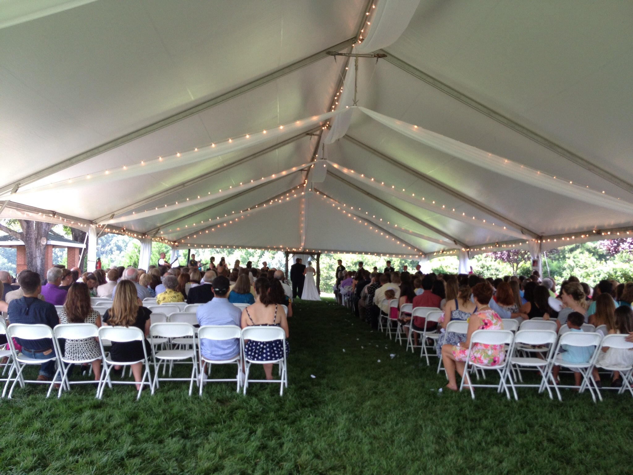 image & A tent for my wedding festivities? - Rand-Bryan House