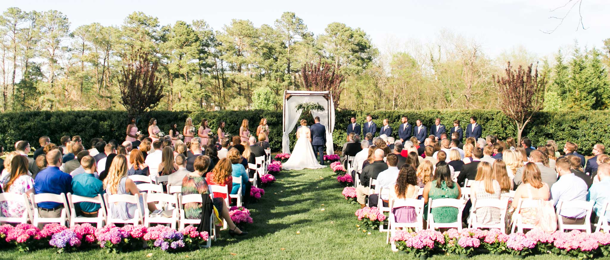 Raleigh Outdoor Wedding Venue Rustic Farm Style Cary Garner
