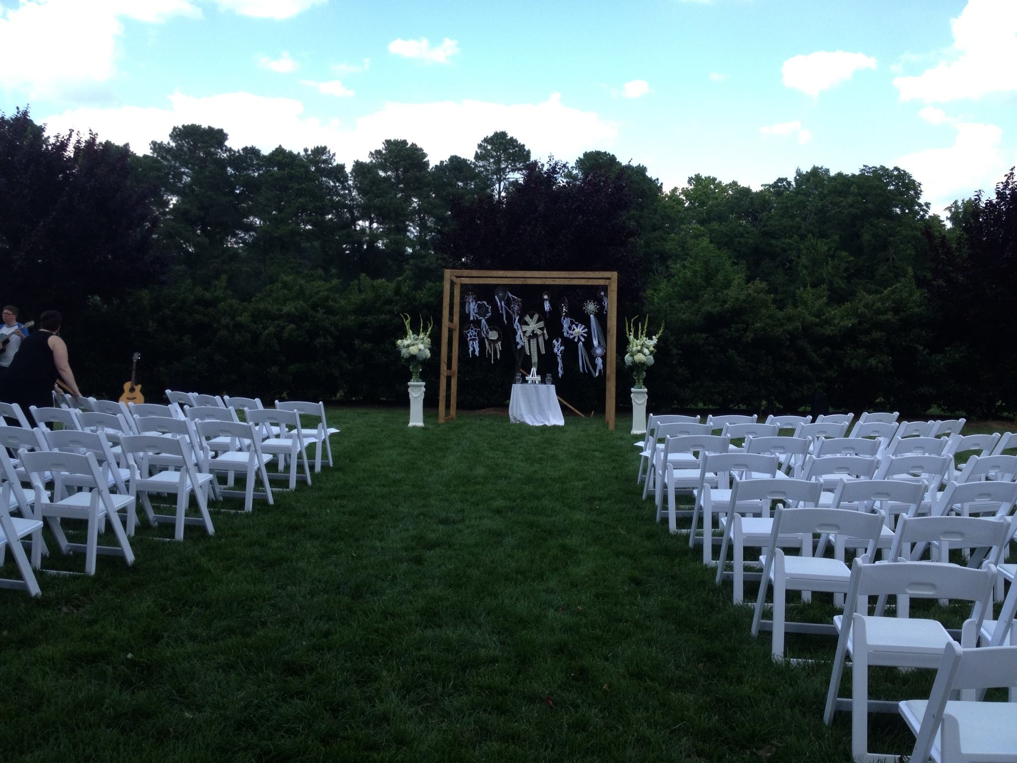 Wedding Ceremony Packages: Raleigh NC Outdoor Wedding Venue