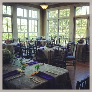 The Rand-Bryan House can also be set up for your wedding reception following your ceremony