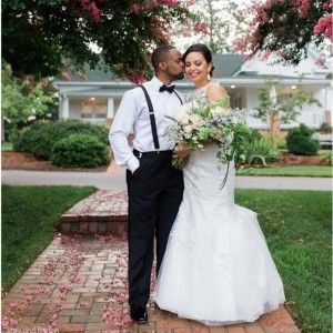 Congratulations to this happy couple. Here's to years of happiness and good fortune!