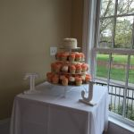 Wedding cake at Rand-Bryan House