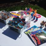 Kid-friendly outdoor reception at Rand-Bryan House