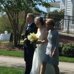 Bridal entrance at Rand-Bryan House ceremony