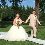 Rand-Bryan House outdoor ceremony