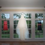 Wedding dress at Rand-Bryan House
