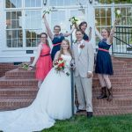 Wedding party photography at Rand-Bryan House
